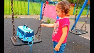 🌸Tayo the Little Bus Having Fun at Playground
