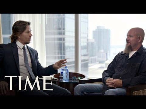 Mark Wahlberg Sits Down With His 'Deepwater Horizon' RealLife Counterpart  The Influencers  TIME