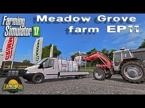 Farming Simulator 17   Meadow Grove   EP11