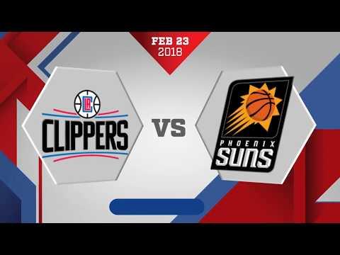 Los Angeles Clippers vs. Phoenix Suns - February 23, 2018