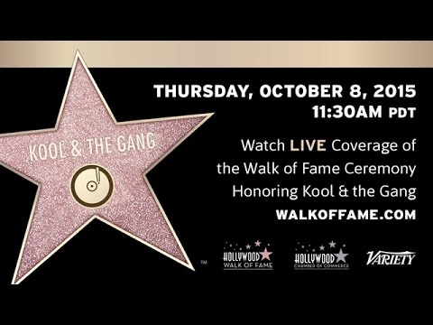 Kool & The Gang Walk of Fame Ceremony
