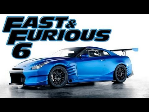 Paul Walker Blue Car Wallpaper Fast And Furious 6 Nissan Gtr Build Forza 4 Youtube