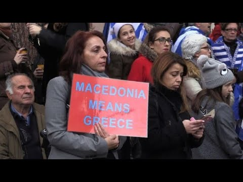 50,000 at Greek protest over Macedonia name row