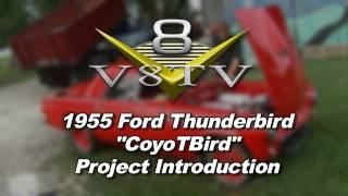 1955 Ford Thunderbird 5.0 Coyote Swap Restomod