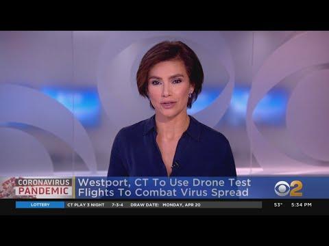 Westport, Connecticut To Use Drone Test Flights To Combat Coronavirus Spread