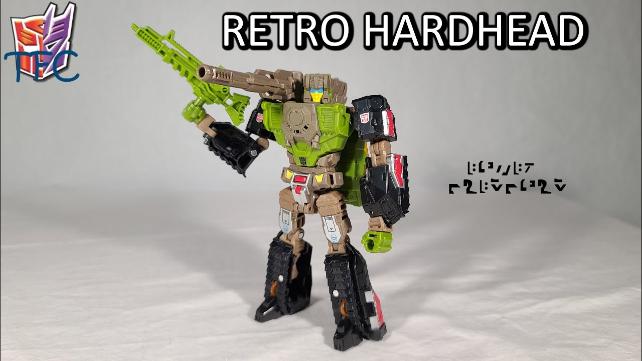 TF Collector Retro Headmaster Hardhead Review!