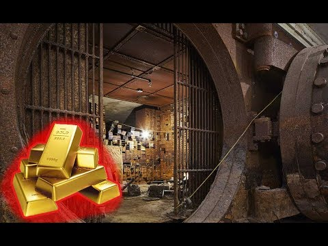 ABANDONED MASSIVE FEDERAL GOLD EXCHANGE - BANK ROBBERY WITH CASH