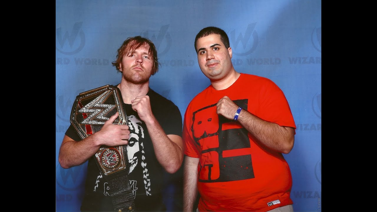 Day in the life meeting dean ambrose becky lynch at wizard world day in the life meeting dean ambrose becky lynch at wizard world chicago 2016 youtube m4hsunfo