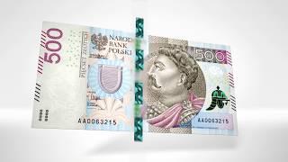 Banknot 500 zł w obiegu