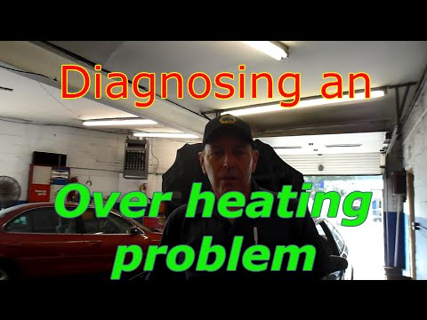 How to diagnose and repair an over heating problem on a Honda Civic