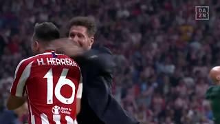Hector Herrera mit dem Last Minute Ausgleich für Atletico! | DAZN