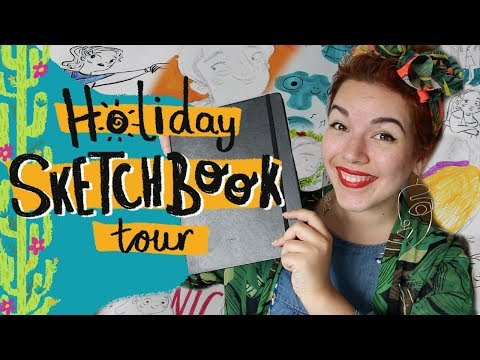 Holiday Sketchbook Tour | XANTHE