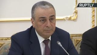 Брифинг заместителя генерального прокурора РФ Саака Карапетяна по делу Скрипаля