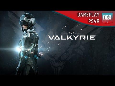 PlayStation VR - Eve Valkyrie Gameplay - Jonny gets sick!