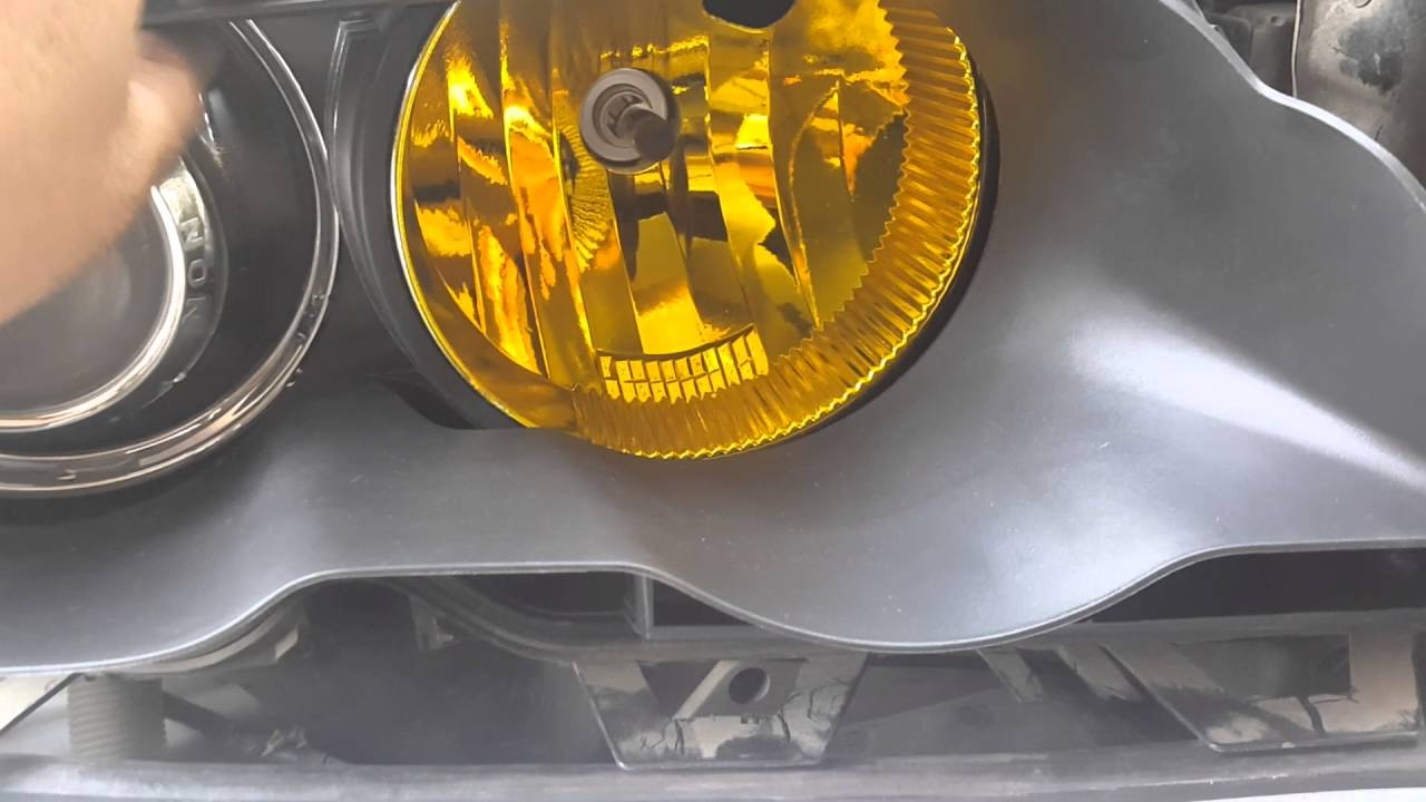 Bmw E46 M3 How To Paint Your Running Lights Yellow