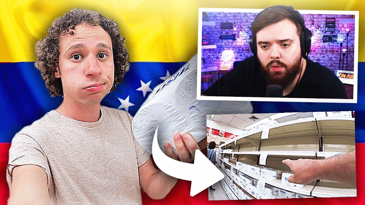 REACCIONANDO A UN SUPERMERCADO EN VENEZUELA - LUISITO COMUNICA