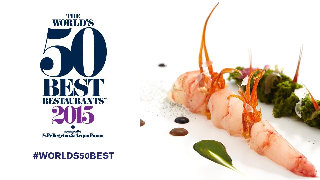 The World's 50 Best Restaurants 2015 - YouTube