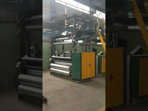 Download 5-layer corrugator line, with 3-single facer, B/C/E flute Mp4 baru