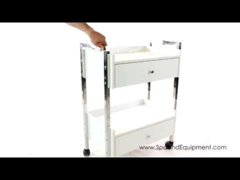 Salon Spa Cart With 2 Drawers