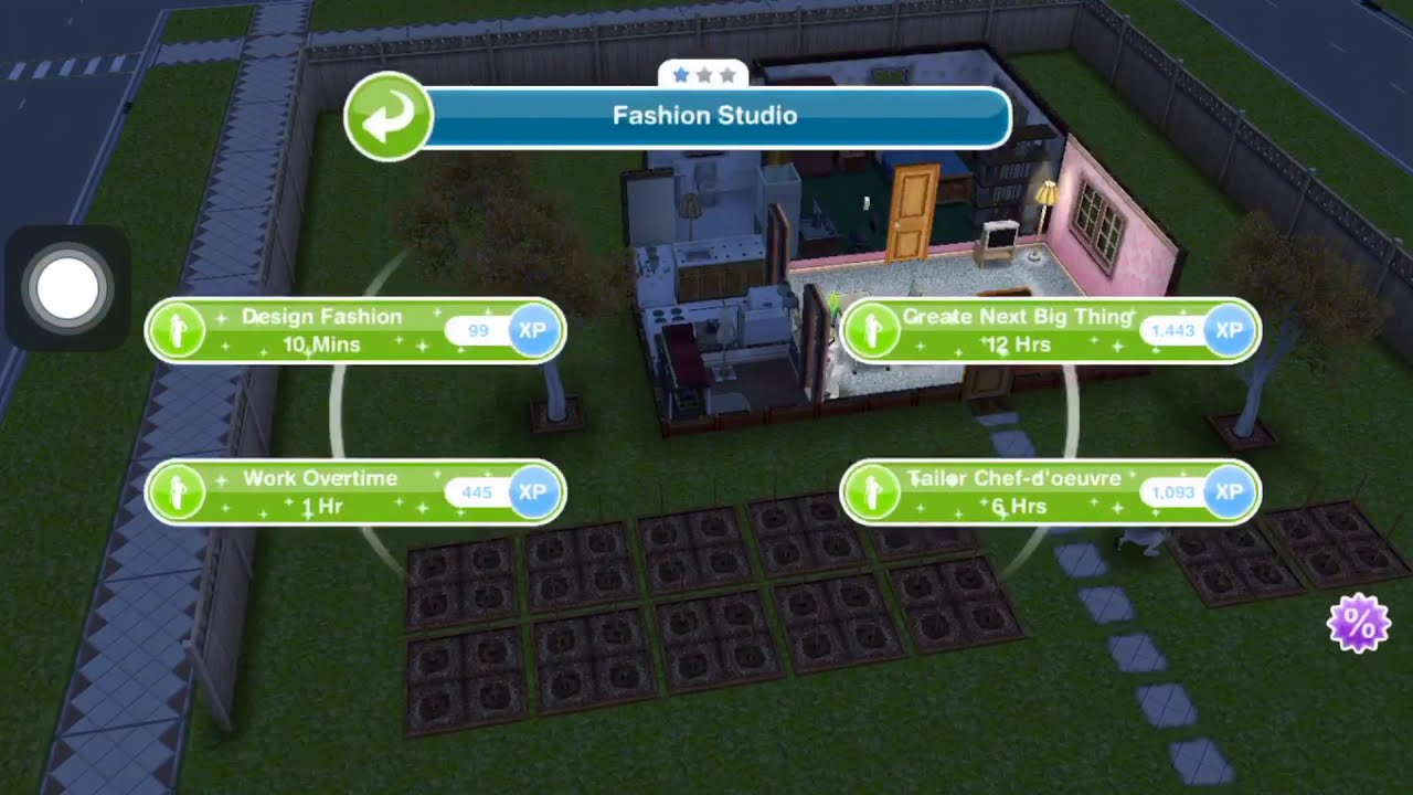 The Sims Freeplay Have 1 Sim Designing Clothing Weekly Tasks Youtube