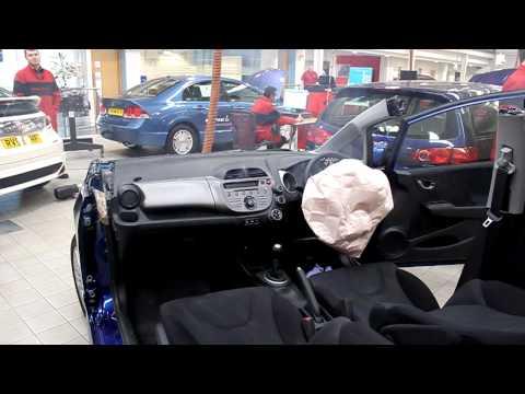 Honda Jazz - Airbag Test