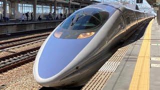 500系復活のぞみ団体臨時列車西明石到着・発車・通過【2021年9月19日】
