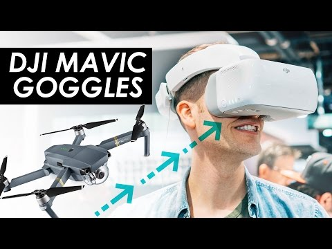 DJI Mavic Goggles! — Best Drone VR Goggles for Mavic Pro