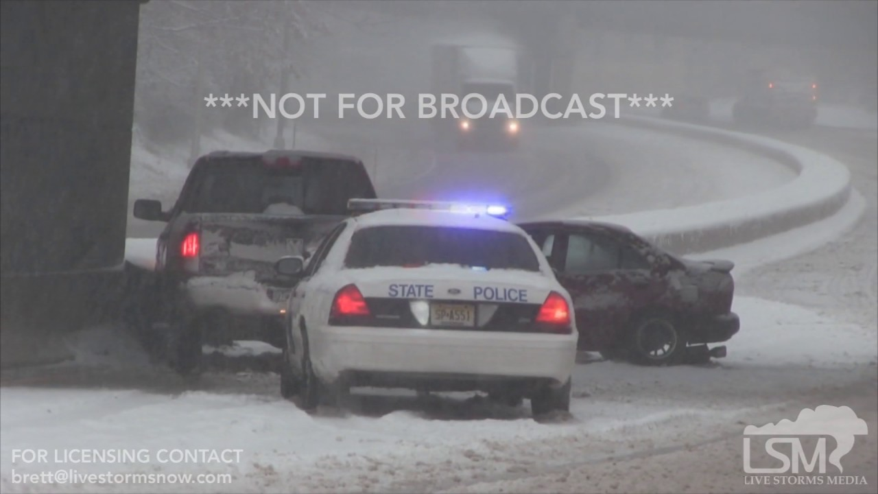 Car Crashes In Snow Youtube