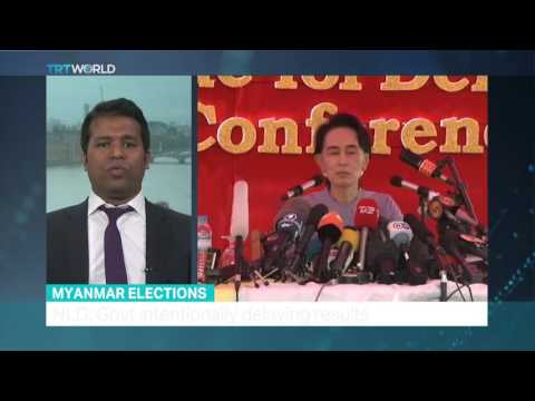 TRT World - Interview with Tun Khin about exclusion of Rohingya muslims from Myanmar election