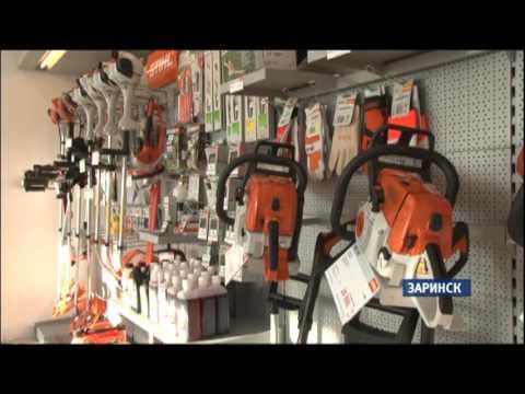 В Заринске начал работать новый магазин профессиональных инструментов и агрегатов «Техномаркет»