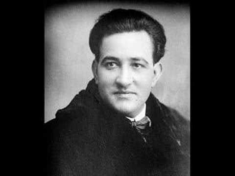 Miguel Fleta - A te, o cara, amor talora - 1923