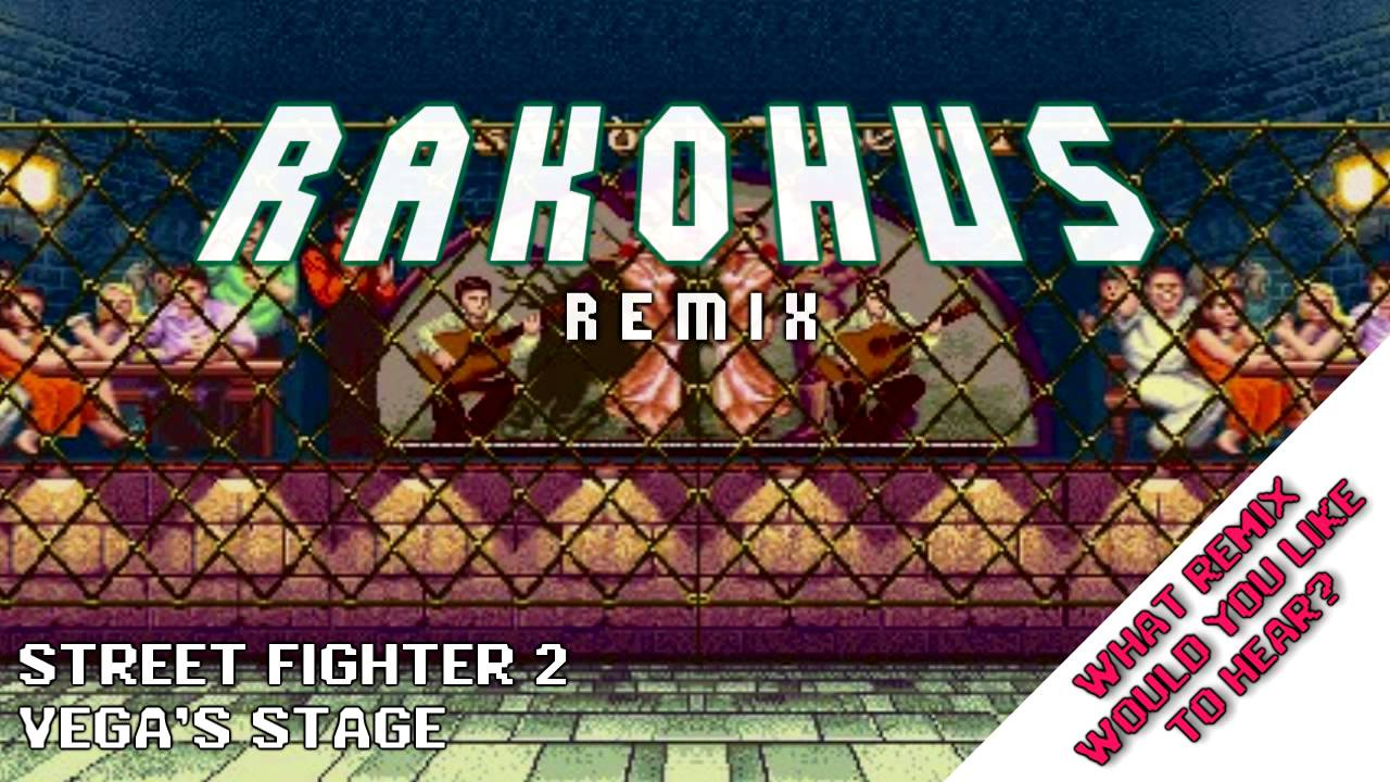 Street Fighter 2 Vega S Stage 8 Bit Nes Remix Youtube