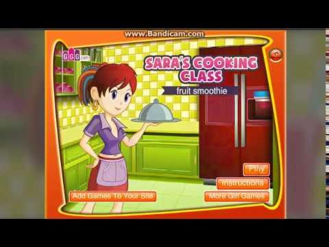 gry lekcje gotowania z sarą torty