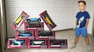 Новые волшебные машинки Mini Cooper. Много новых машинок из одной старой.