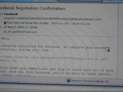 Facebook Instructions