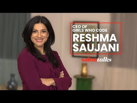 Why Girls Who Code's Reshma Saujani is urging women to be brave