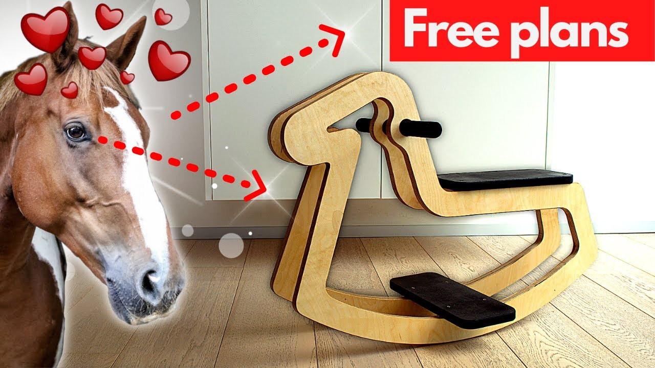 How to make a rocking horse   FREE PLANS