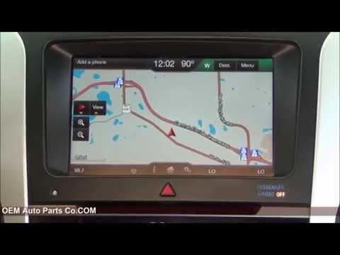 MyFord Touch GPS Navigation Radio Upgrade! Plug & Play! Installation & Removal