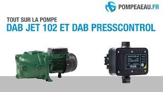 DAB Jet 102 M + DAB Presscontrol + Câblage - Déballage