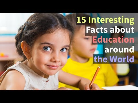 15 Interesting Facts About Education Around The World They Don't Teach You In School | Prep4School