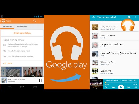 How to download Google Play Music onto a phone's Music Player (SD)