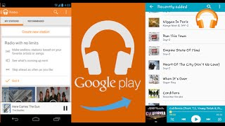 How to download Google Play Music onto a phone's Music Player