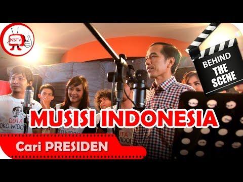 Jokowi dan Musisi - Behind The Scenes Video Klip Cari Presiden  - TV Musik Indonesia