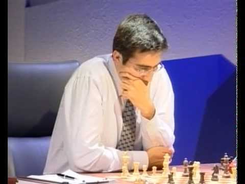 Kasparov Kramnik Match 2-1 World Chess Championship 2000 (li