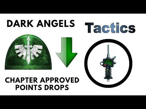 Dark Angels Chapter Approved 2019 Points Changes + Drops - Review And Discussion