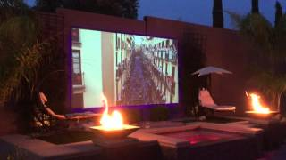 Backyard Projector Screen Project