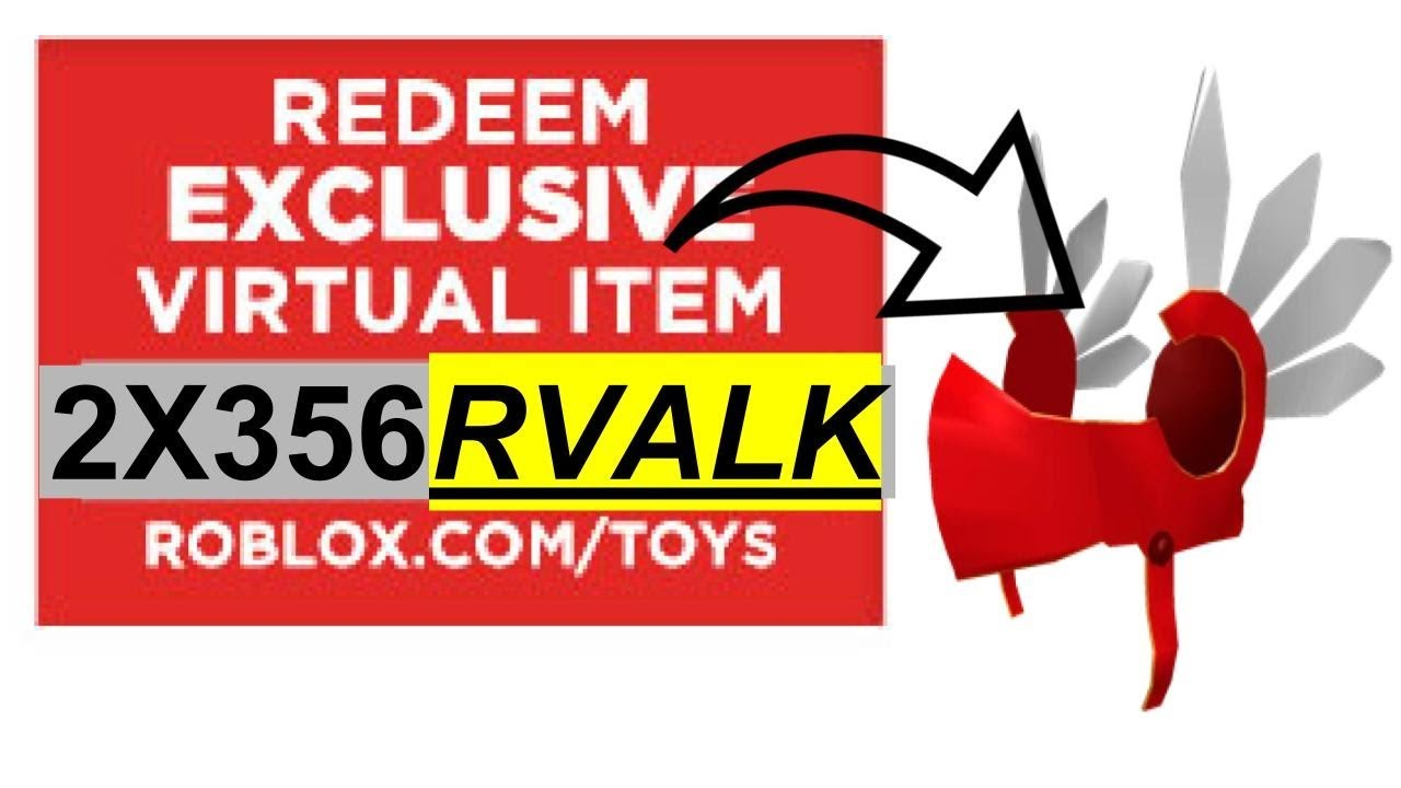 How To Get Red Valk Codes Roblox Youtube