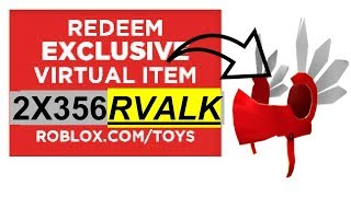 COMMENT À GET RED VALK CODES ROBLOX