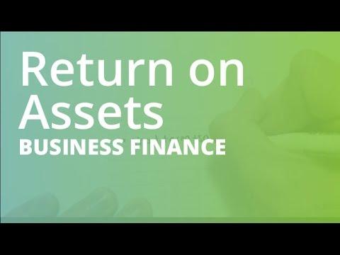 Return on Assets | Business Finance (FINC101)