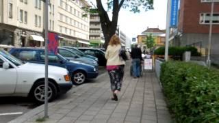 アキーラさん散策!親日国フィンランド・トゥルク市街1,Turk,Finland